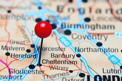 chelenham map