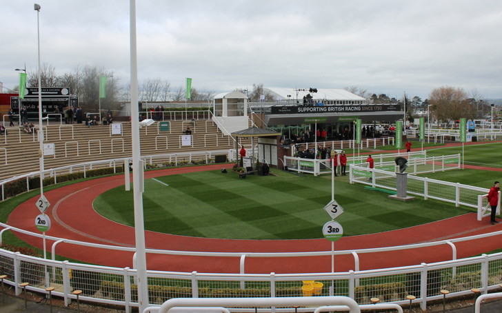 Parade Ring at Cheltenham Racecourse