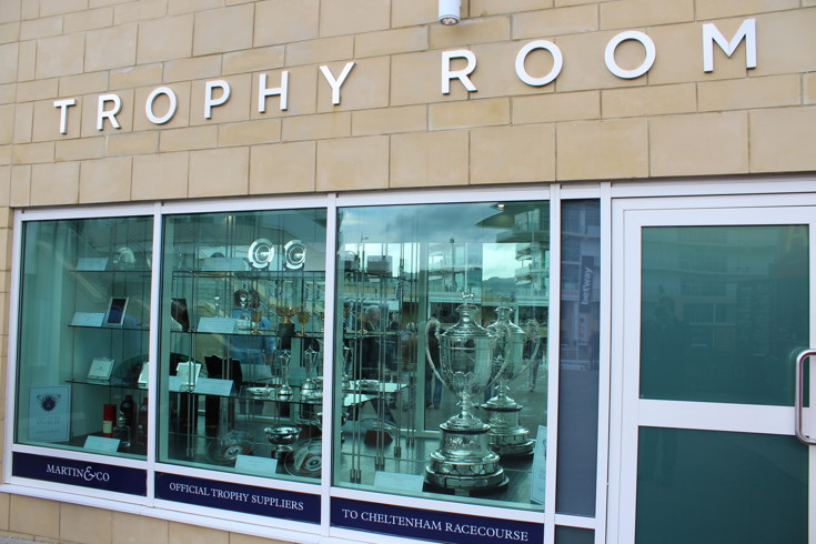 trophy room at cheltenham racecourse