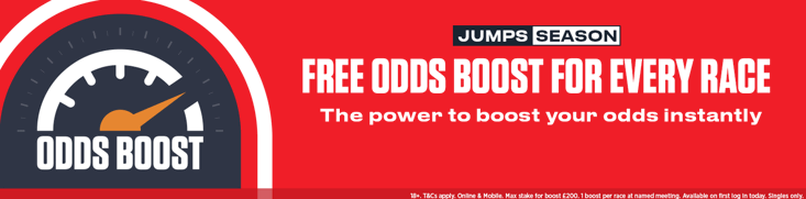 odds boost any horse you want to