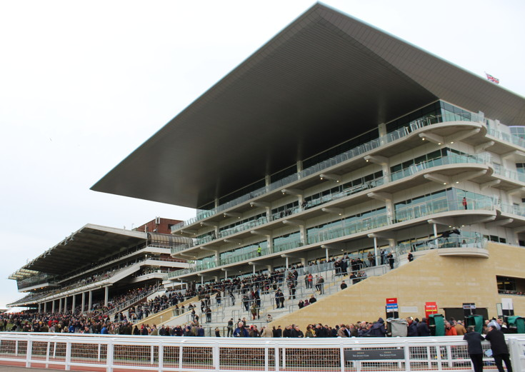 princess royal stand from the front at cheltenham racecourse