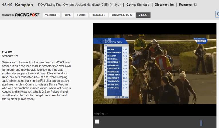 ladbrokees live horse race stream