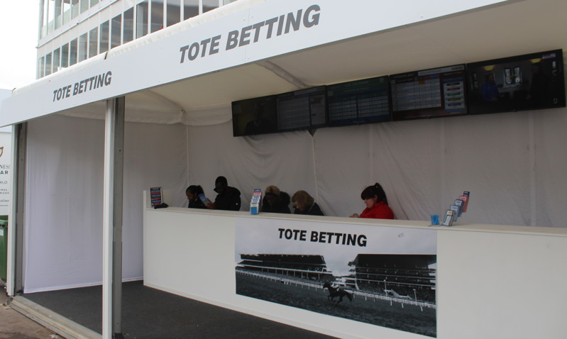 tote betting stand at cheltenham course
