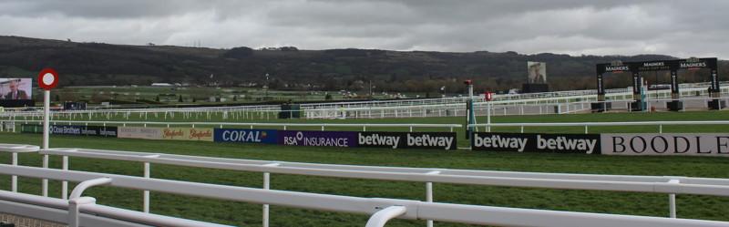 winning posts at cheltenham racecourse