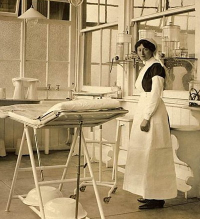 cheltenham racecourse world war one hospital nurse