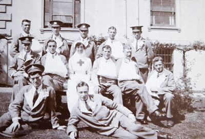 cheltenham racecourse world war one hospital soliders recovering