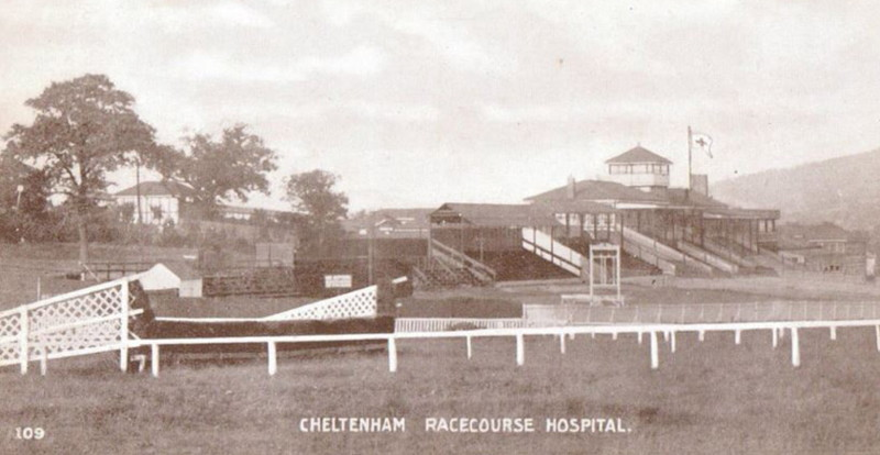 cheltenham racecourse world war one hospital
