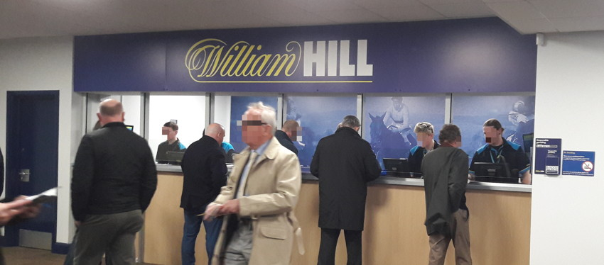 william hill shop inside cheltenham racecourse