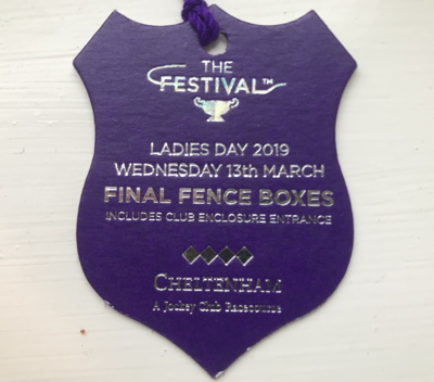 ladies day 2019 badge