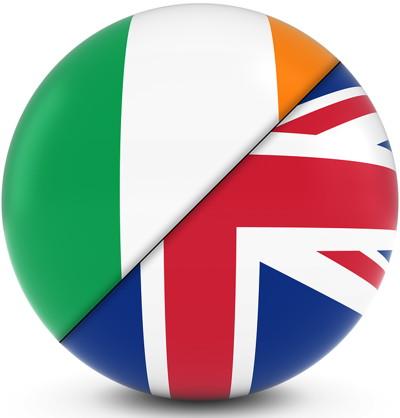 british irish flag