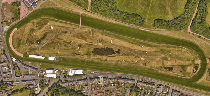 musselburgh racecourse from above